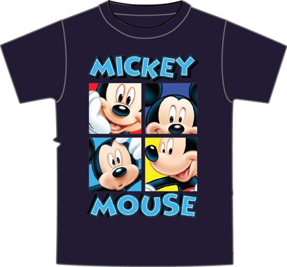 Picture of Disney Toddler Boys T-Shirt Boxed Mickey Gray T-Shirt