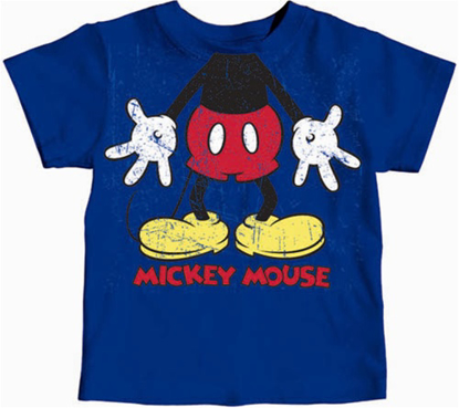 Picture of Disney Toddler Boys T Shirt Gotta Love Mouse Royal T Shirt
