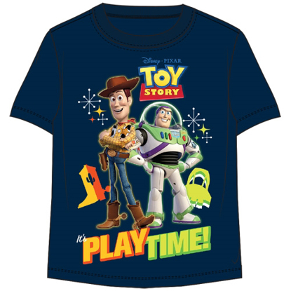 Picture of Disney Toddler Boys T Shirt Toy Story Play Time Navy Blue