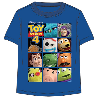 Picture of Disney Toddler Boys Toy Story Toy Box Group Royal Blue T Shirt