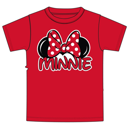 Picture of Disney Toddler Minnie Family Tee Red