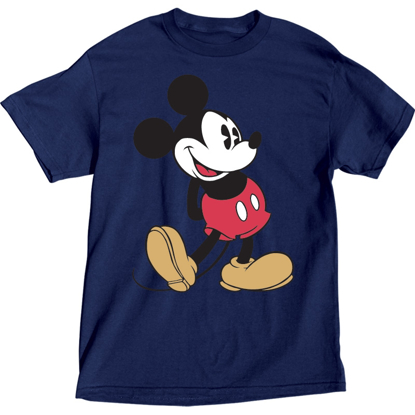 Picture of Disney Plus Size T-Shirt Mickey Head to Toe Navy