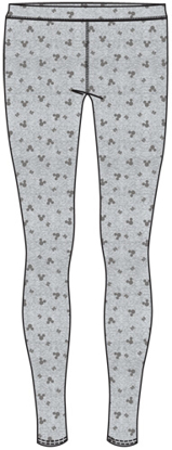 Picture of Disney Junior Mickey Dots Leggings Gray