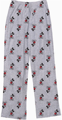 Picture of Womens Pant Kickback Mickey Grey Heather