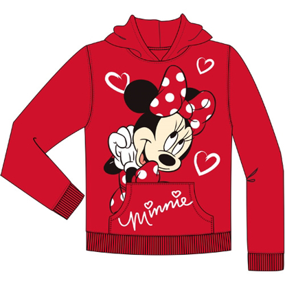 Picture of Disney Youth Girls Minnie Love Pullover Hoodie