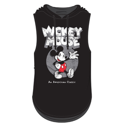 Picture of Disney Junior Fashion Hooded Tank Top Mickey Mouse Classic Black