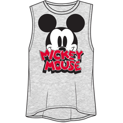 Picture of Disney Junior Fashion Tank Top Big Eyes Mickey Mouse Gray