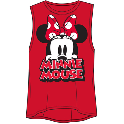 Picture of Disney Junior Fashion Tank Top Big Eyes Minnie Mouse Red