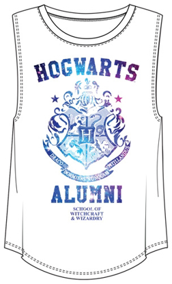 Picture of Disney Junior Hogwarts Alumni Harry Potter Tank White