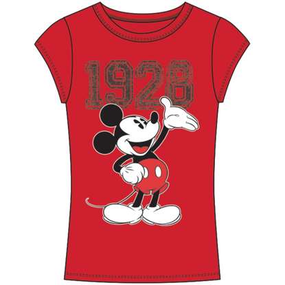 Picture of Disney Junior Fashion Top 1928 Mickey Mouse Red