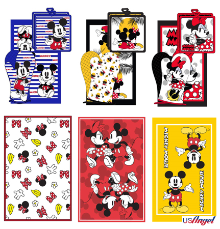 Picture for category Disney Kitchen Towel Set
