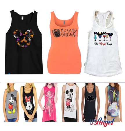Picture for category Disney Women Tank Tops