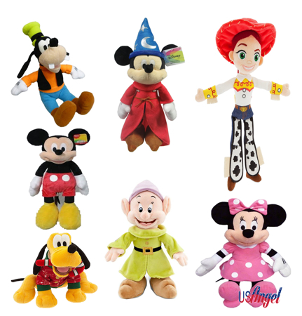 Picture for category Disney Plush 11 inch Doll