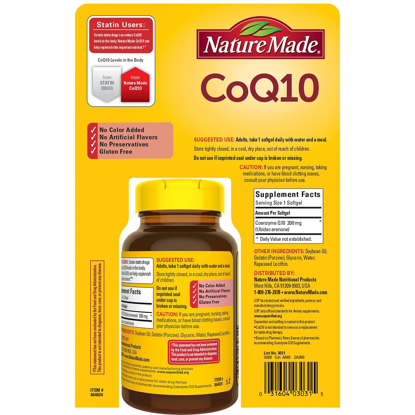 Picture of Nature Made CoQ10 200 mg Softgels 140 ct