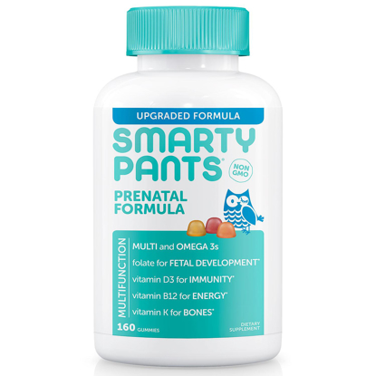 Picture of SmartyPants Prenatal Formula Gummy Multivitamin 160 ct