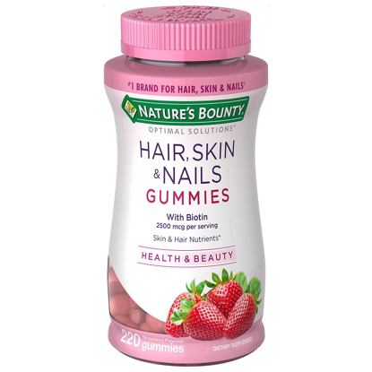 Nature's Bounty Hair Skin & Nails Gummies 220 ct