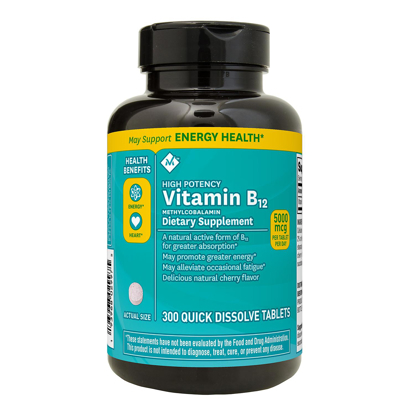 Picture of Members Mark Sublingual Vitamin B12 Methylcobalamin 5000mcg 300 ct