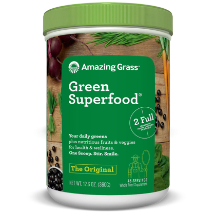 Picture of Amazing Grass Green Super food Original 45 servings