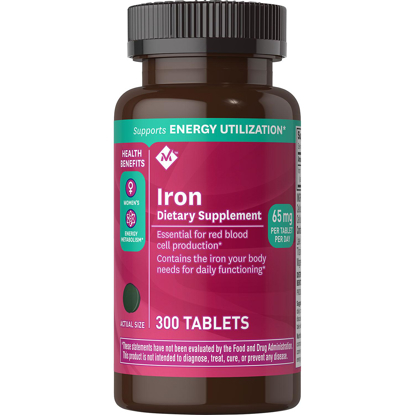 Picture of Members Mark 65 mg Iron Dietary Supplement 300 ct
