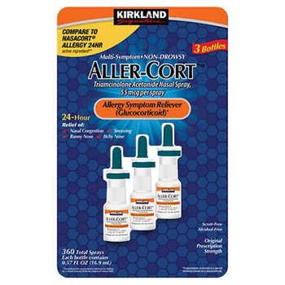 Picture of Kirkland Signature Aller Cort 3 Bottles