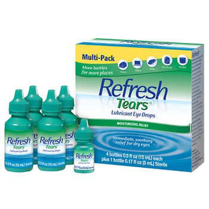 Picture of Refresh Tears Lubricant Eye Drops Multi Pack 65 ml