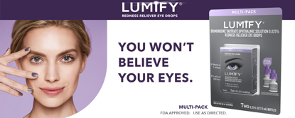 Picture of Lumify Redness Reliever Eye Drops 15 ml
