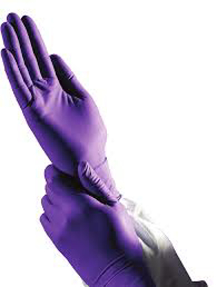 Picture of Kimberly Clark Professional PURPLE NITRILE Exam Gloves Medium Purple  100 Box