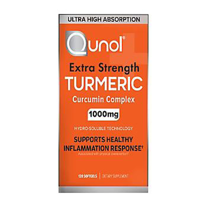 Picture of Qunol Extra Strength Turmeric Curcumin Complex 120 ct 1000 mg