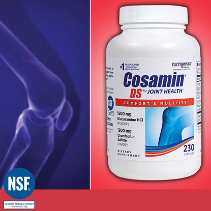 Picture of Cosamin DS for Joint Health 230 Capsules