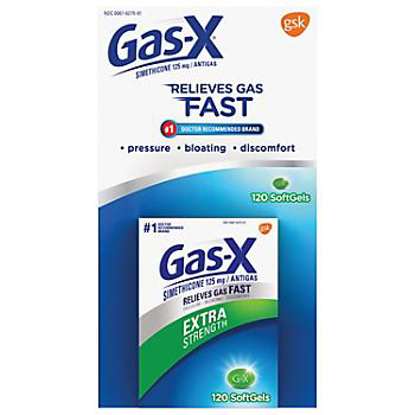Picture of Gas-X Extra-Strength Softgels 120 ct