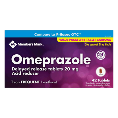 Picture of Member's Mark Omeprazole  Acid Reducer 42 ct