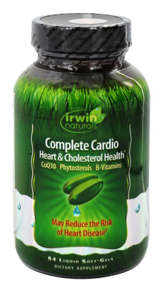 Picture of Irwin Naturals Complete Cardio Heart & Cholesterol Health 84 ct