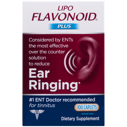 Picture of Lipo Flavonoid Plus Ear Health Supplement 100 caplets