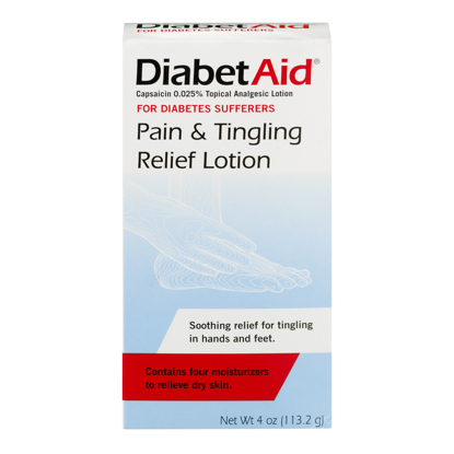 Picture of Diabetaid Pain & Tingle Relief Lotion 4 Fl Oz Diabetes