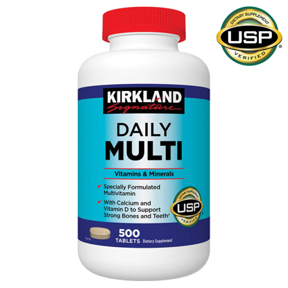 Picture of Kirkland Signature Daily Multi 500 Tablets