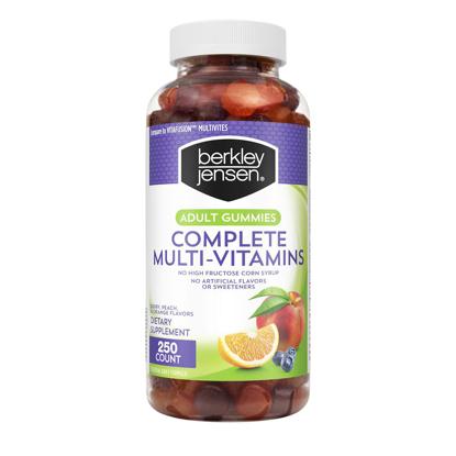 Picture of Berkley Jensen Adult Gummy Complete Multi Vitamins 250 ct