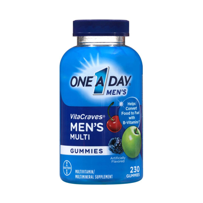 Picture of One A Day Men's VitaCraves Multivitamin Gummies 230 ct