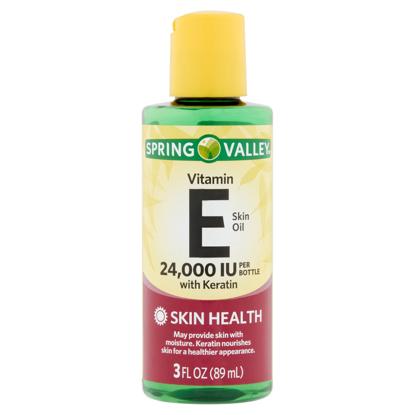 Spring Valley Vitamin E Skin Oil with Keratin 24000 IU 3 fl oz