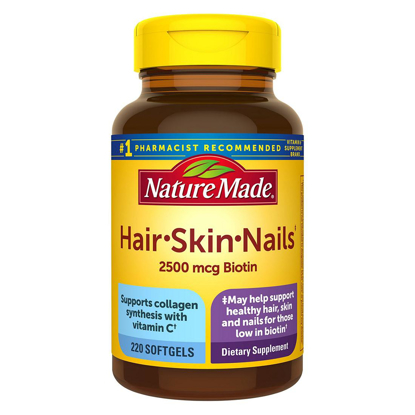 Nature Made Hair Skin and Nails Supplement 220 ct