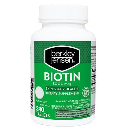 Berkley Jensen 5000 mg Biotin 240 ct
