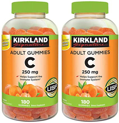 Kirkland Signature Vitamin C 250 mg 360 Adult Gummies