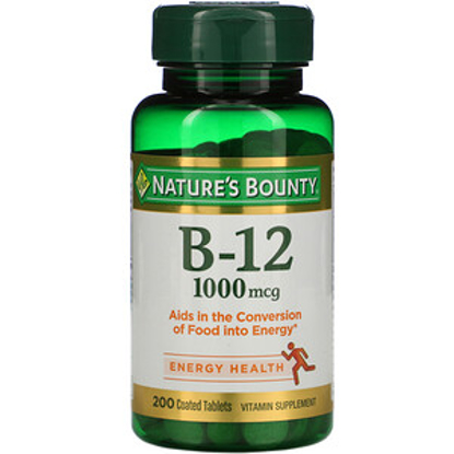 Nature's Bounty Vitamin B-12 2500 mcg 300 Quick Dissolve Tablets