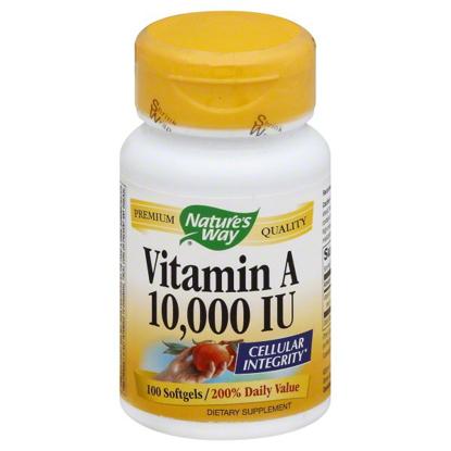 Natures Way Natures Way Vitamin A 100 ea