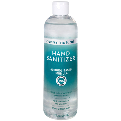 Clean n' Natural Hand Sanitizer 12 oz