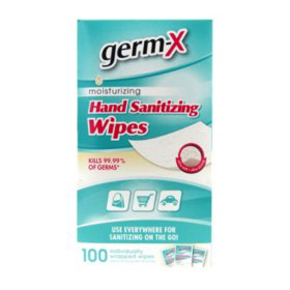 Germ-X Antibacterial Soft Wipes Singles 100 ct