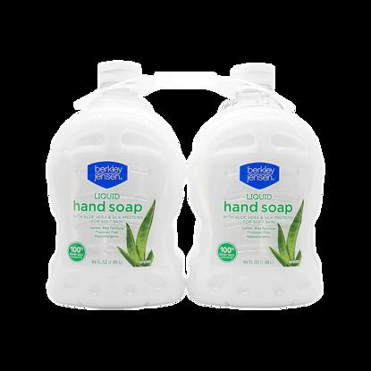Berkley Jensen Liquid Hand Soap with Aloe Vera 2 ct 64 oz