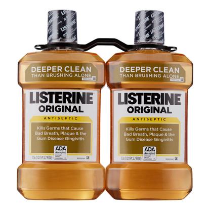 Listerine Original Antiseptic 1.5L 2 pk