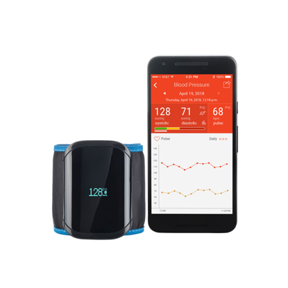 A&D Medical Ultra Connect Wireless Wrist Blood Pressure Monitor