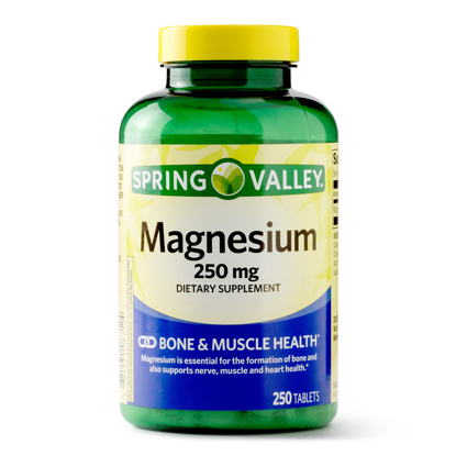 Spring Valley Magnesium Tablets 250mg