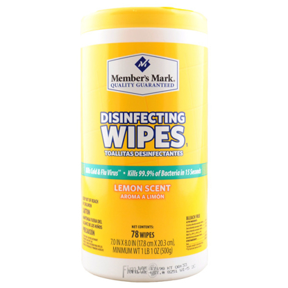 Member's Mark Disinfecting Wipes (78 ct., 1 pk.)